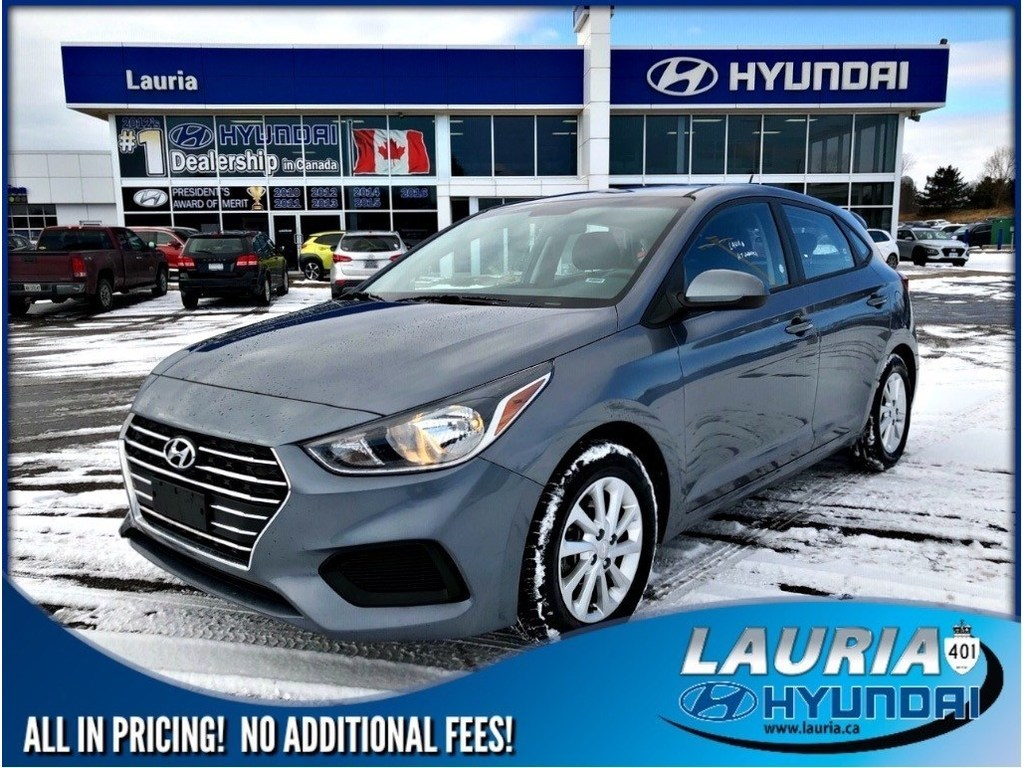 Certified Pre-Owned 2018 Hyundai Accent 5DR GL Auto - Backup camera / Bluetooth