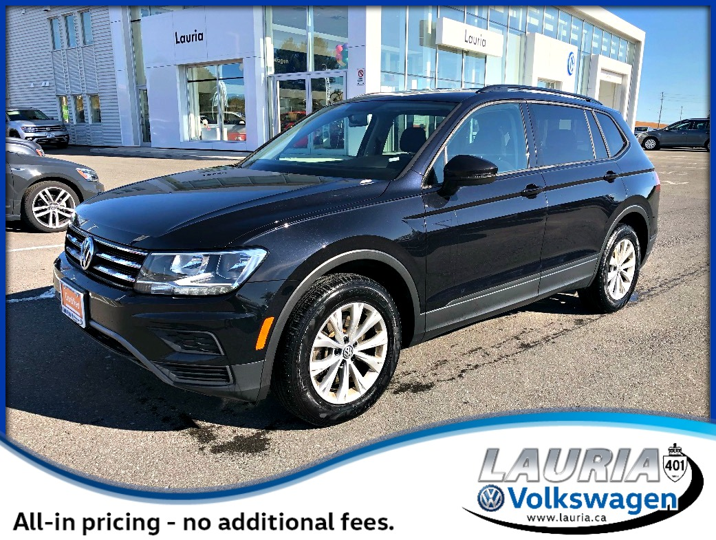 Certified Pre-Owned 2019 Volkswagen Tiguan 2.0 TSI Trendline 4Motion AWD