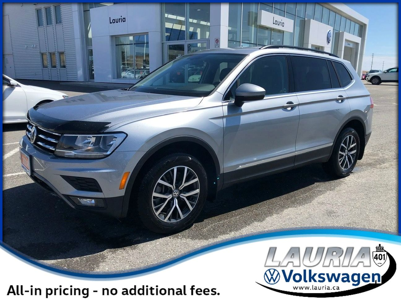 Certified Pre-Owned 2019 Volkswagen Tiguan 2.0T Comfortline Auto - ULTRA LOW KMS!