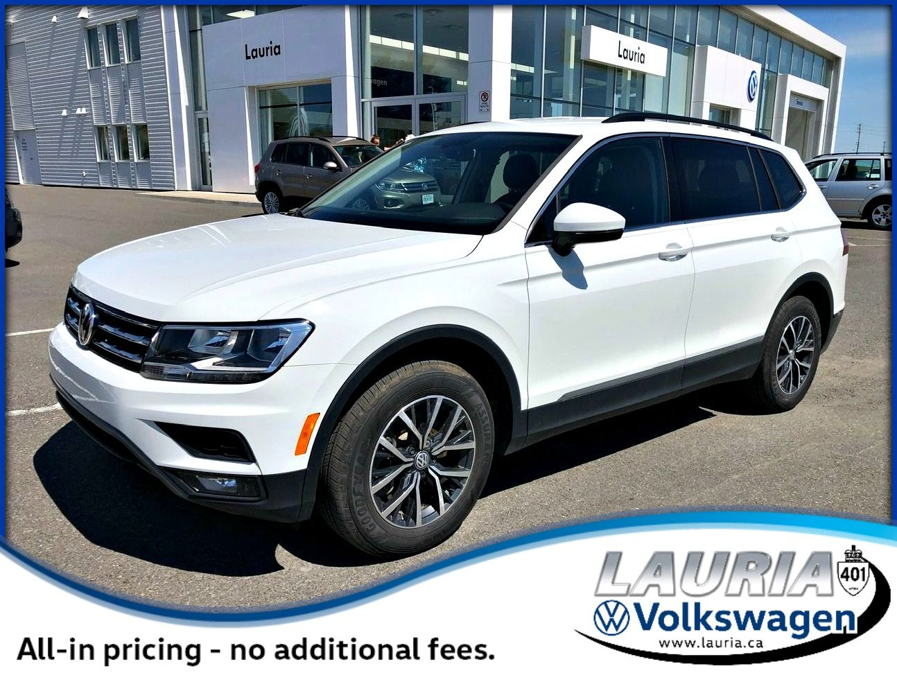 Certified Pre-Owned 2019 Volkswagen Tiguan 2.0T Comfortline 4Motion AWD - LOW KMS