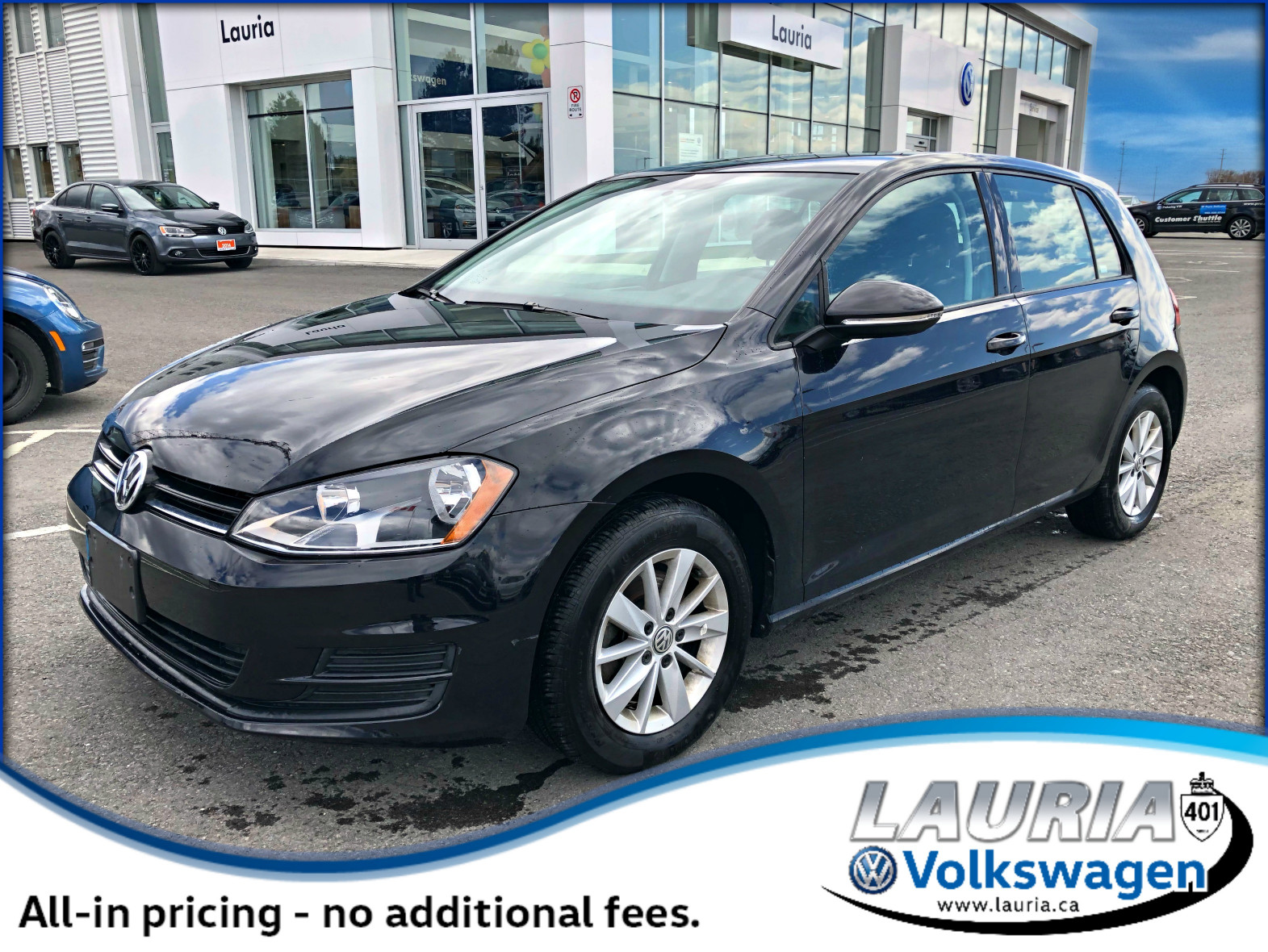 Certified Pre-Owned 2017 Volkswagen Golf 1.8 TSI Trendline Auto - Bluetooth / Backup camera