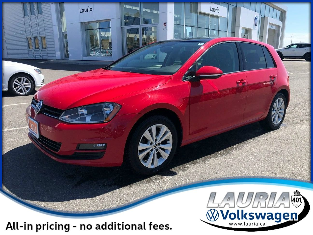 Certified Pre-Owned 2016 Volkswagen Golf TSI Comfortline Auto - LOW KMS