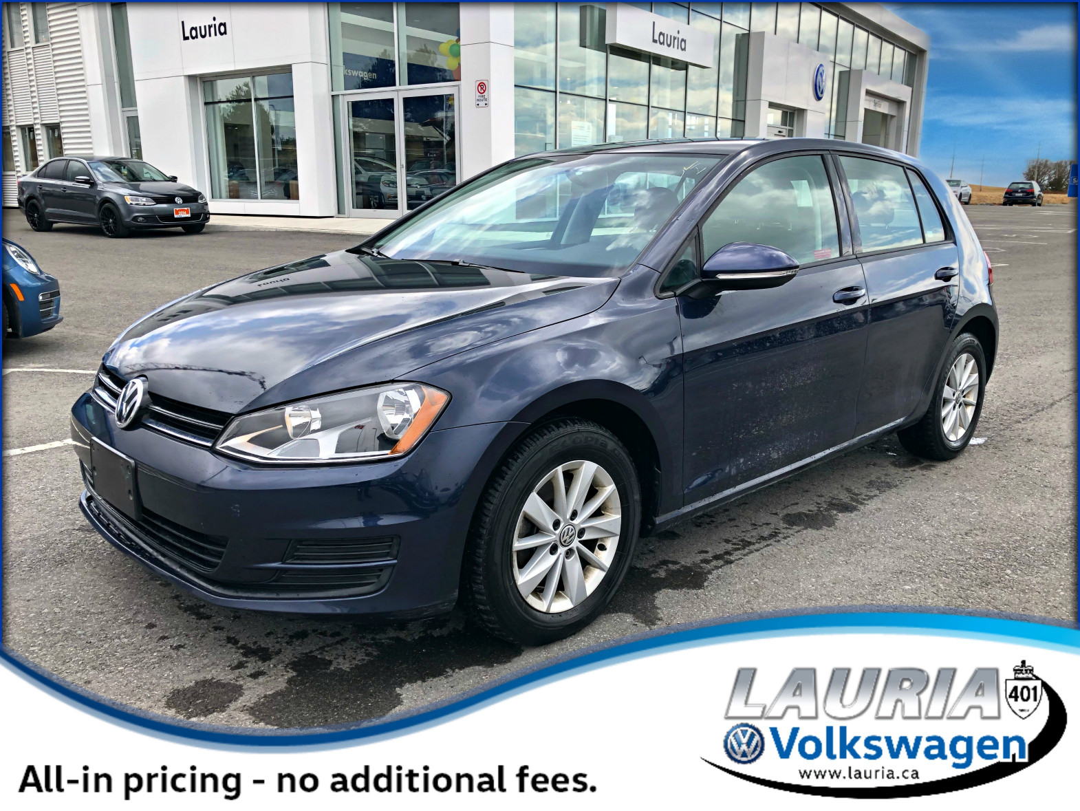 Certified Pre-Owned 2017 Volkswagen Golf 1.8 TSI Trendline Auto - Backup camera / Bluetooth