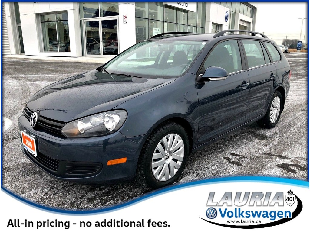 Pre-Owned 2010 Volkswagen Golf 2.5L Trendline Auto - Low kms