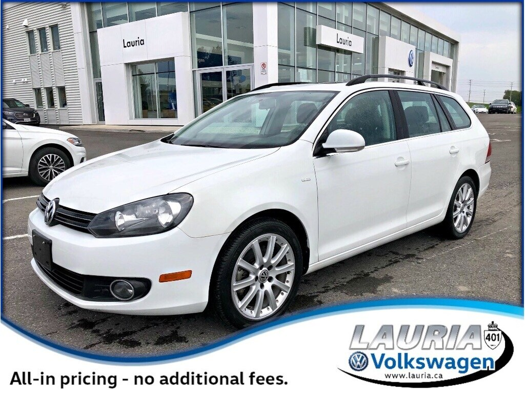 Certified Pre-Owned 2014 Volkswagen Golf 2.0 TDI Wolfsburg Wagon - Navigation/Low kms - 0%