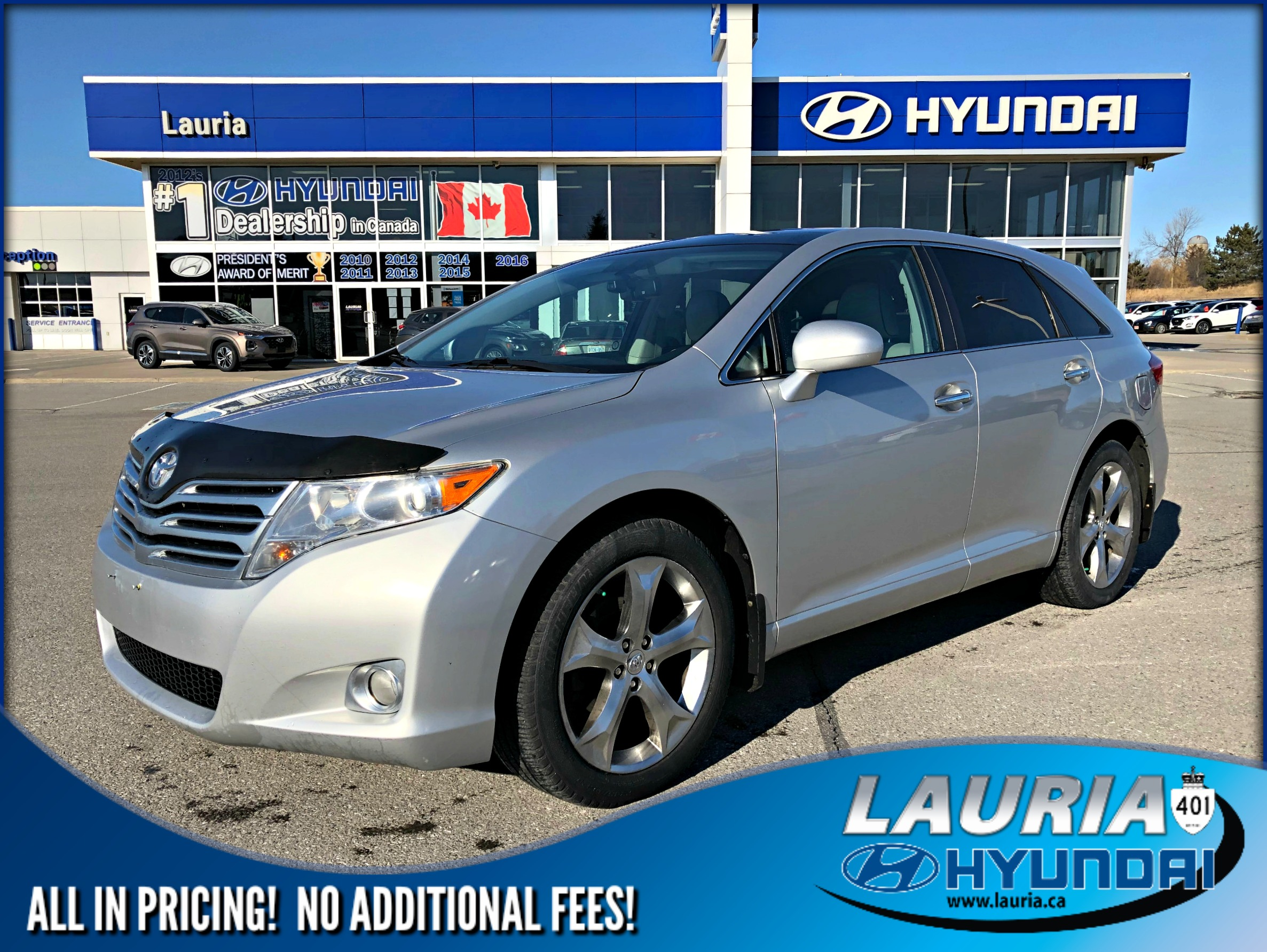 Pre-Owned 2011 Toyota Venza V6 AWD - Leather / Dual sunroof