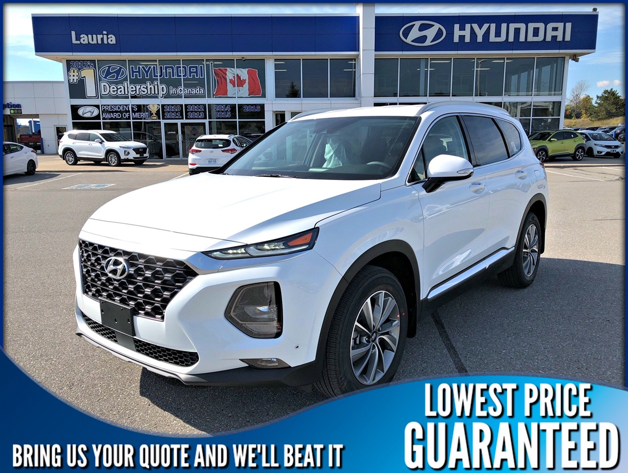 New 2020 Hyundai Santa Fe 2.4L AWD Preferred