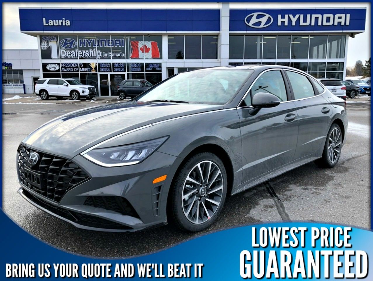 New 2020 Hyundai Sonata 1.6T Luxury Auto