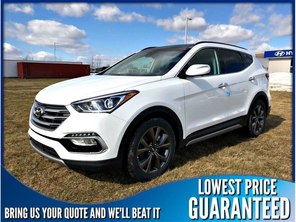 New 2018 Hyundai Santa Fe Sport 2.0T AWD Limited Ultimate