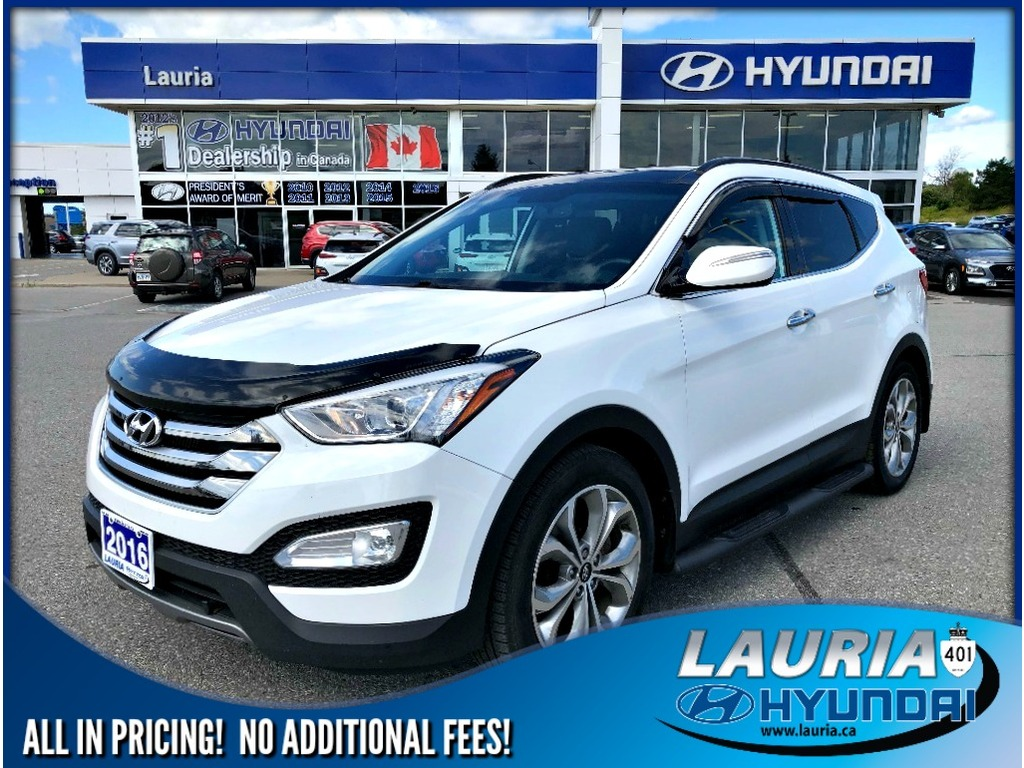 2016 Hyundai Santa Fe >> 2016 Hyundai Santa Fe Sport 2 0t Limited Adventure Edt Awd Loaded