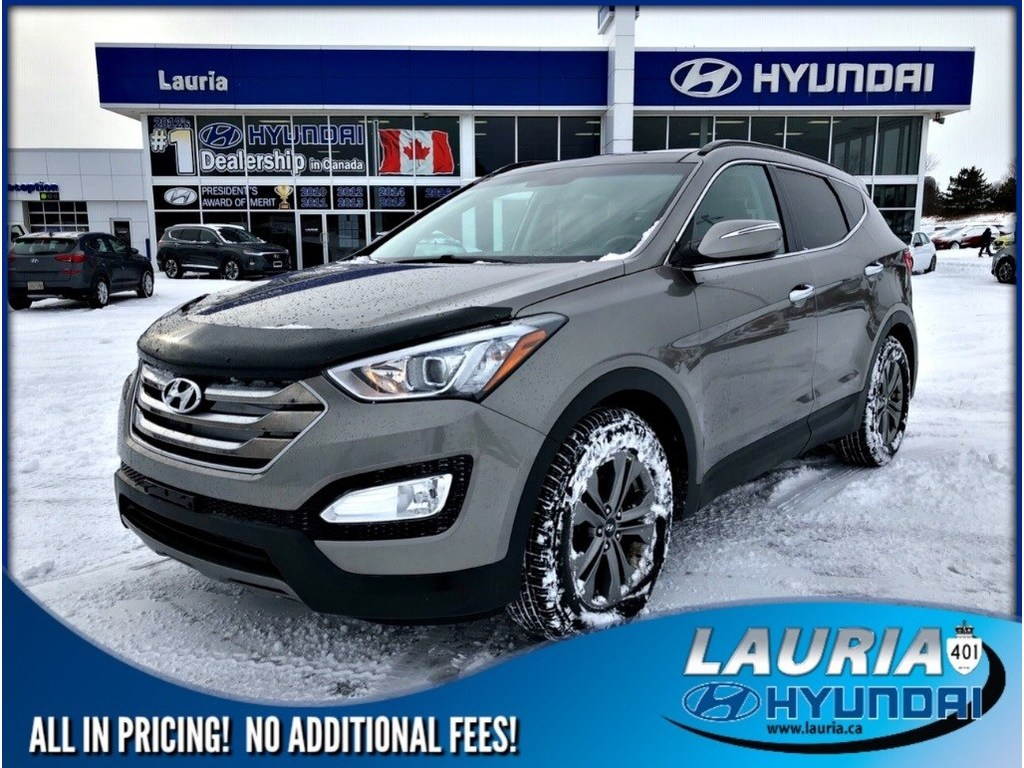 Pre-Owned 2016 Hyundai Santa Fe Sport 2.4L AWD Luxury - Leather / Panoramic sunroof