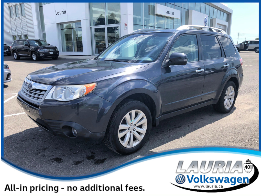 Pre-Owned 2012 Subaru Forester 2.5X Auto - 1 owner