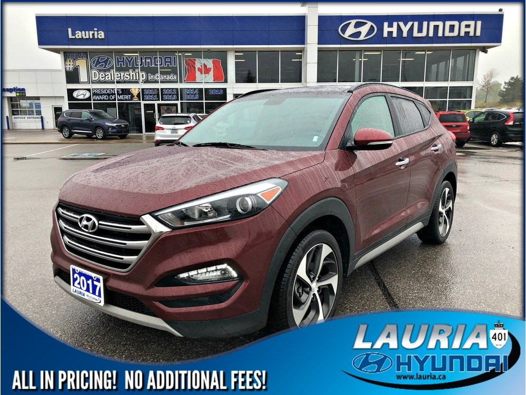 Certified Pre-Owned 2017 Hyundai Tucson 1.6T AWD SE Auto - Leather / Panoramic sunroof