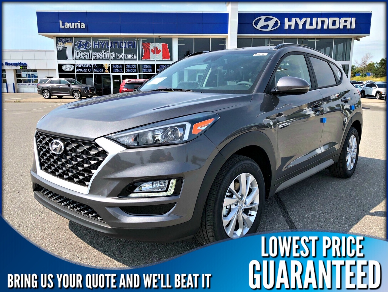 New 2020 Hyundai Tucson 2.0L AWD Preferred w/Sun & Leather Pkg *DEMO*