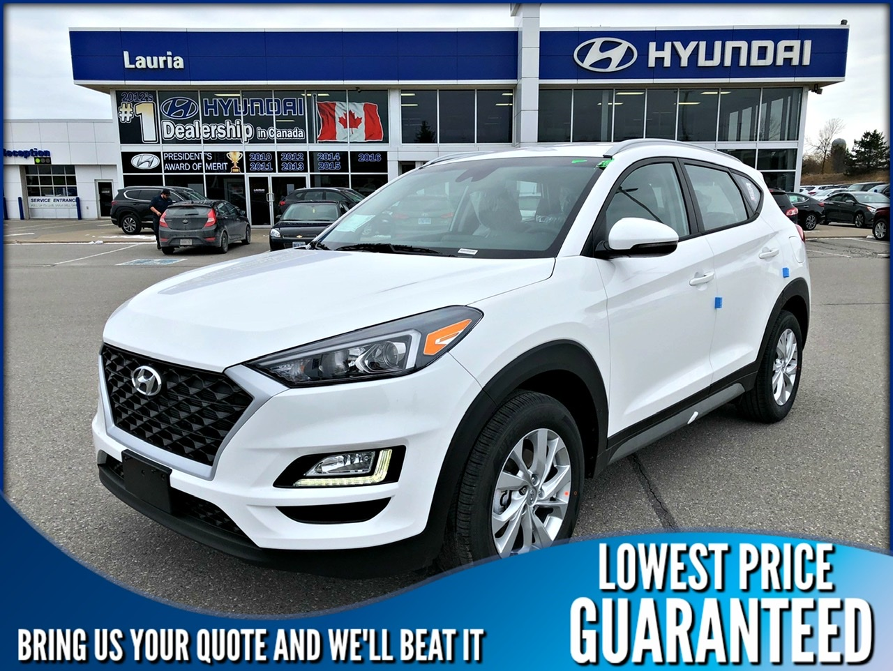 New 2020 Hyundai Tucson 2.0L AWD Preferred w/Sun & Leather pkg