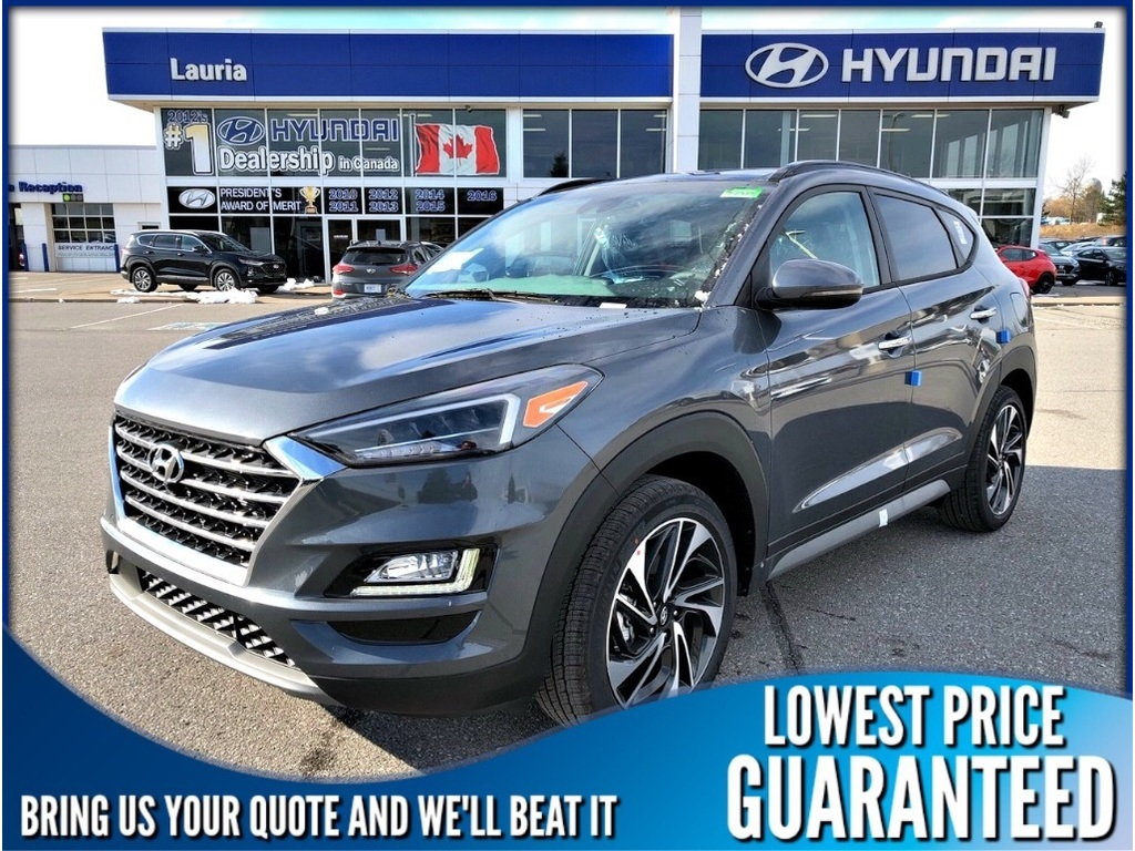 New 2019 Hyundai Tucson 2 4l Awd Ultimate Auto Demo Awd Sport Utility