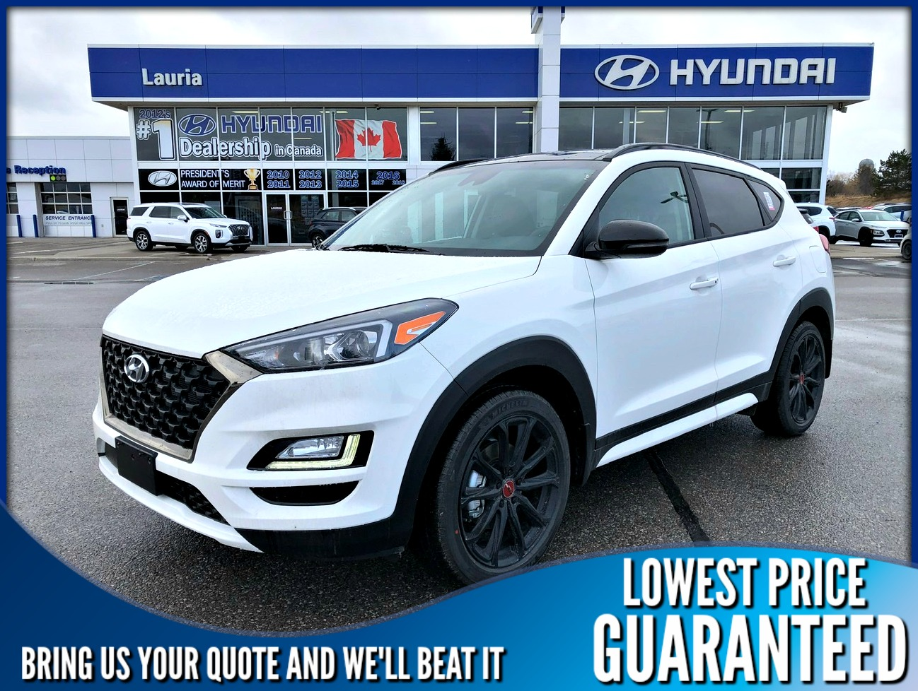 New 2020 Hyundai Tucson 2.4L AWD Urban Edition