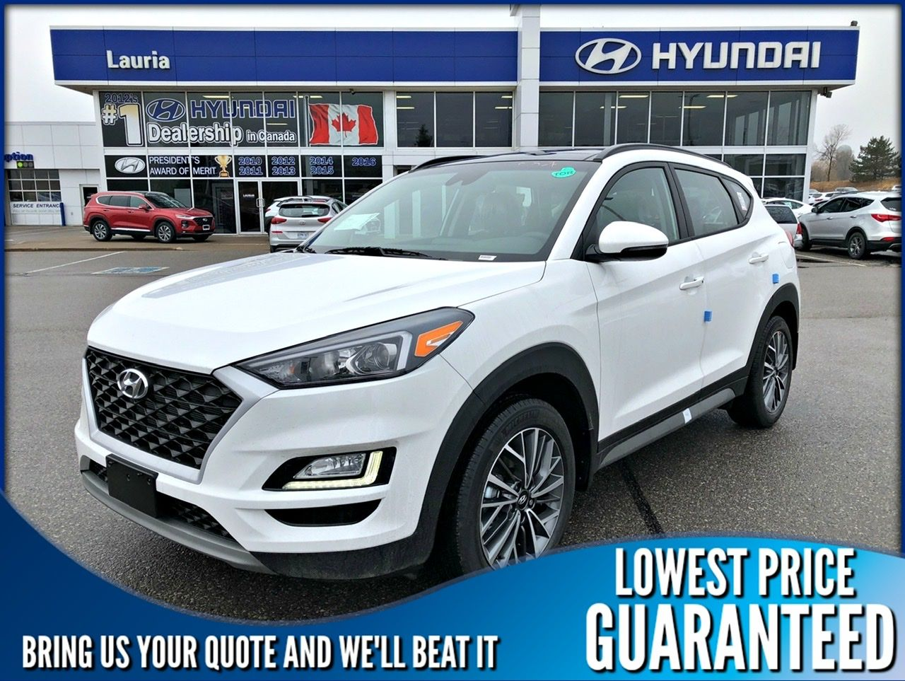 New 2020 Hyundai Tucson 2.0L AWD Luxury