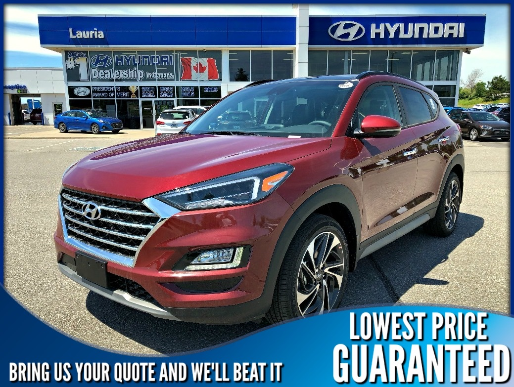 New 2020 Hyundai Tucson 2.4L AWD Ultimate