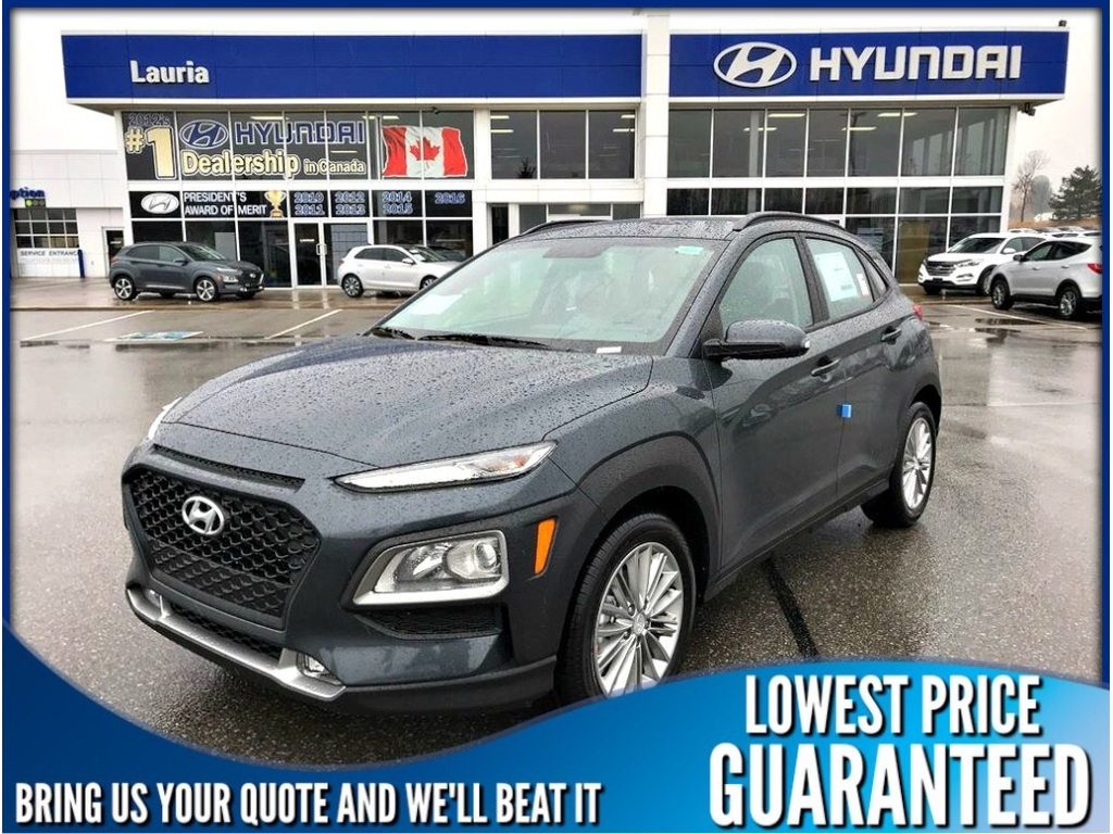 New 2019 Hyundai Kona 2.0L AWD Preferred Auto