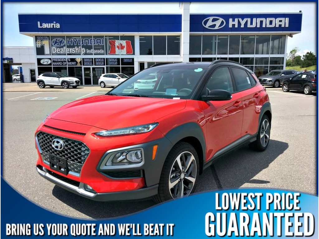New 2019 Hyundai Kona 1.6T AWD Ultimate Auto
