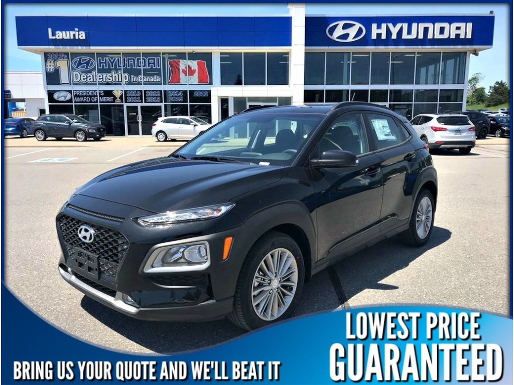 New 2019 Hyundai Kona 2.0L AWD Luxury Auto