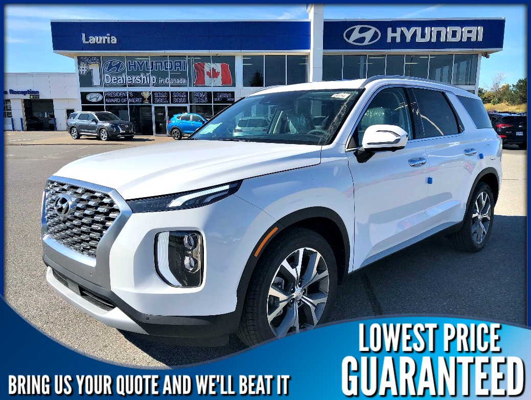New 2020 Hyundai Palisade V6 AWD Luxury 8-Passenger