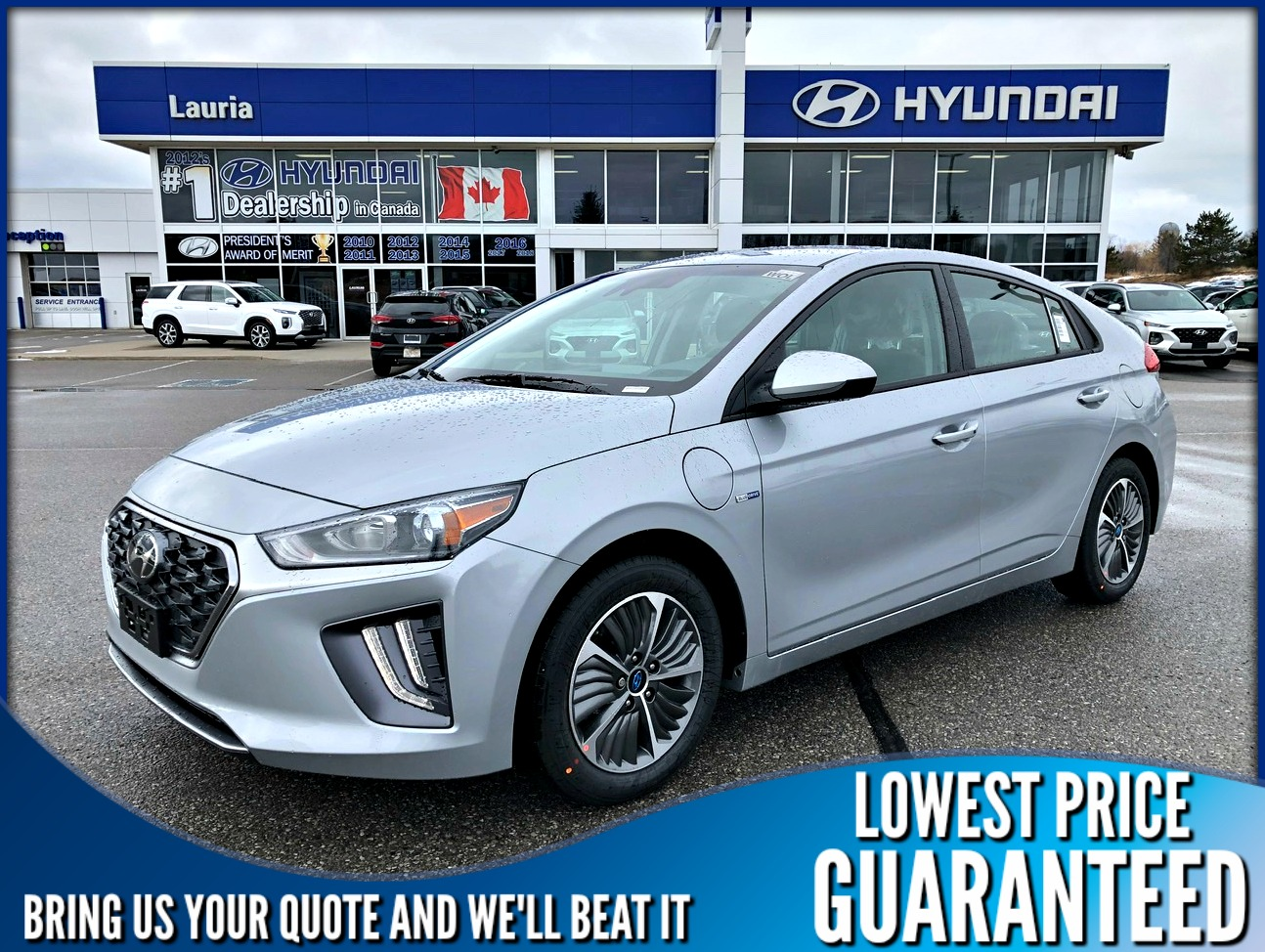 New 2020 Hyundai Ioniq Plug-In Hybrid Preferred Auto