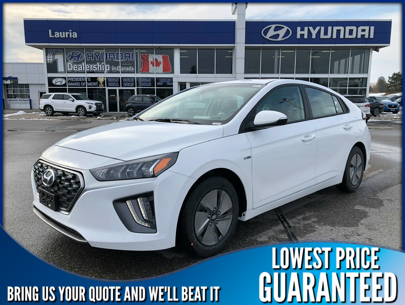 New 2020 Hyundai Ioniq Hybrid Preferred Auto