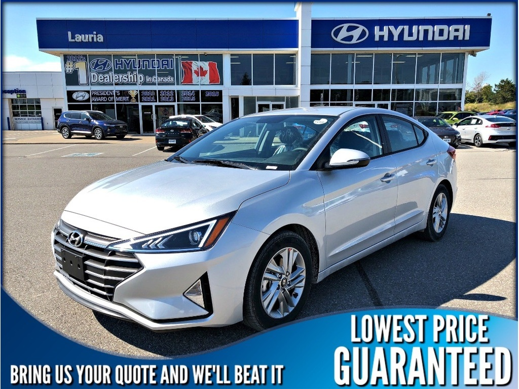 New 2019 Hyundai Elantra Preferred Auto Sedan In Port Hope 750037 2012 Fuel Filter