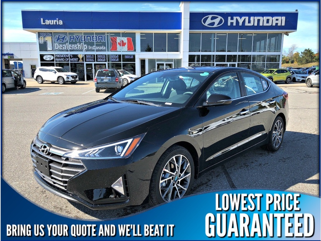New 2020 Hyundai Elantra Luxury Auto
