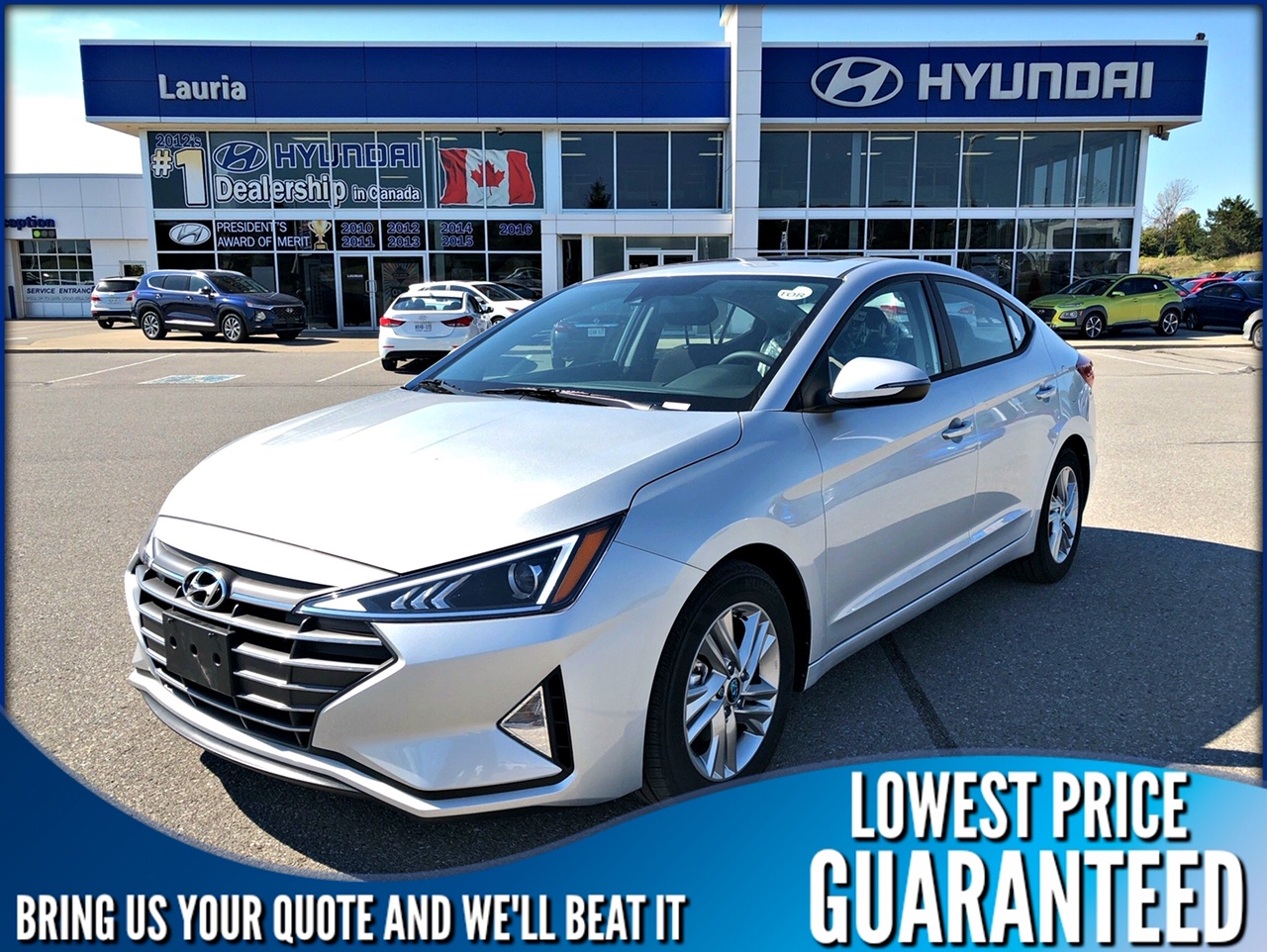 New 2020 Hyundai Elantra Preferred w/Sun & Safety Pkg *DEMO*