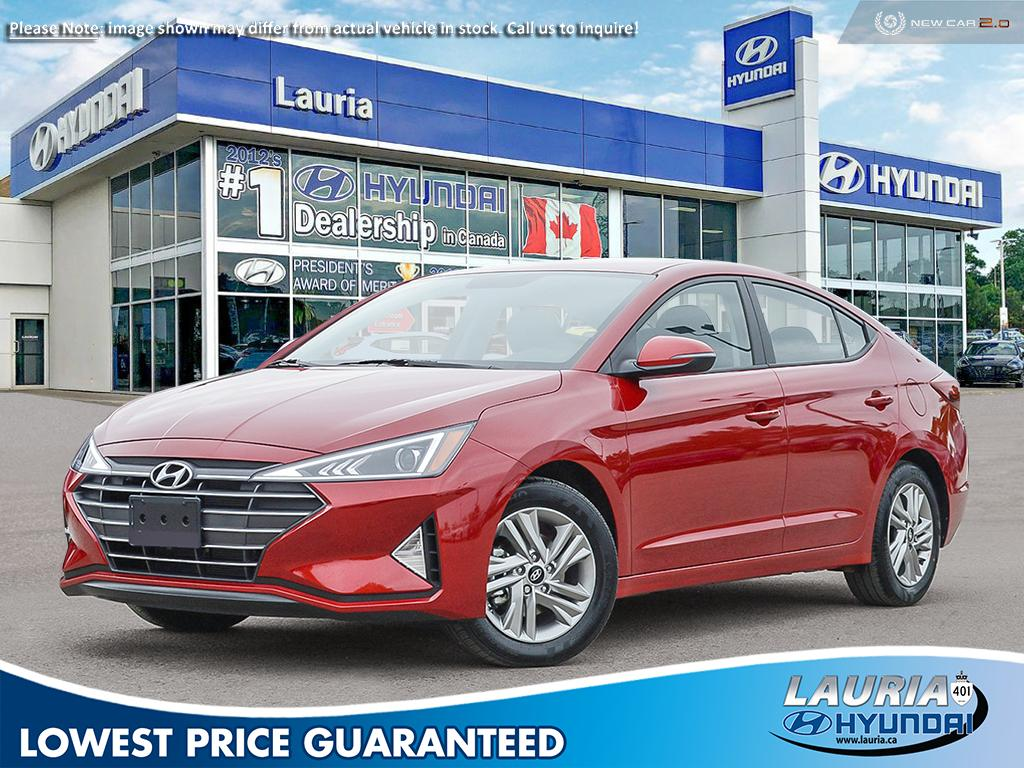 New 2020 Hyundai Elantra Preferred w/Sun & Safety pkg