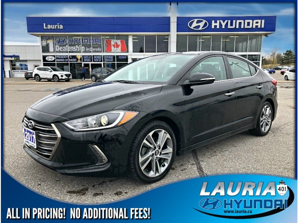 Certified Pre-Owned 2017 Hyundai Elantra Limited Ultimate Auto - LOADED - Navigation