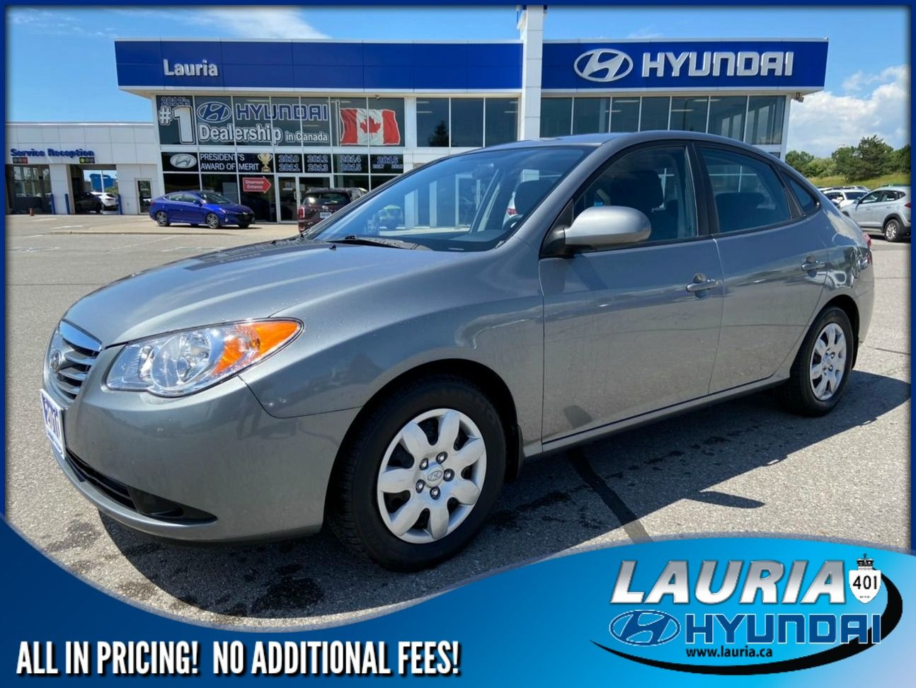 Pre-Owned 2010 Hyundai Elantra GL - LOW KMS