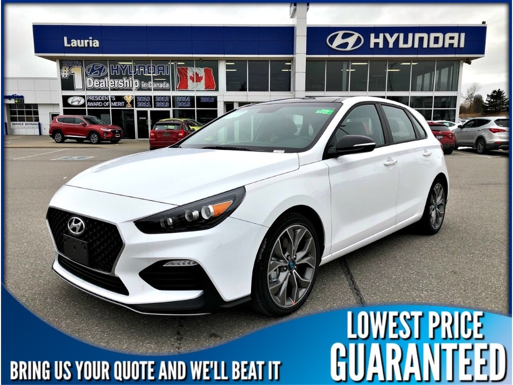 New 2019 Hyundai Elantra GT 1.6T N-Line Manual