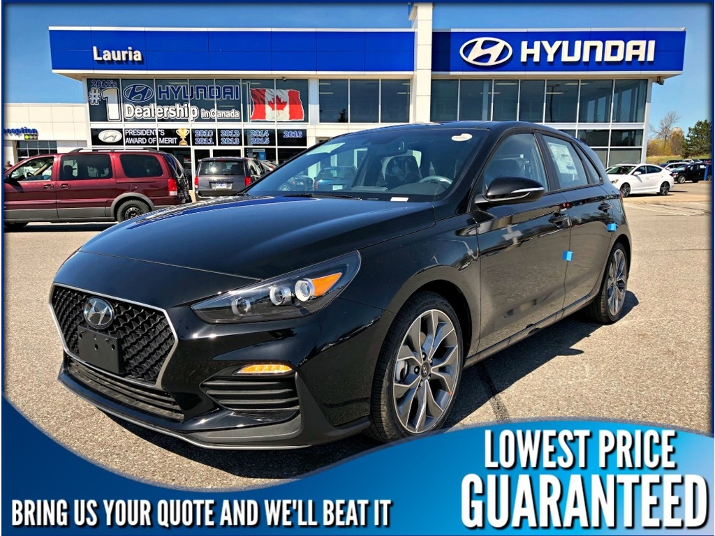 New 2019 Hyundai Elantra Gt 1 6t N Line Manual Fwd Sedan