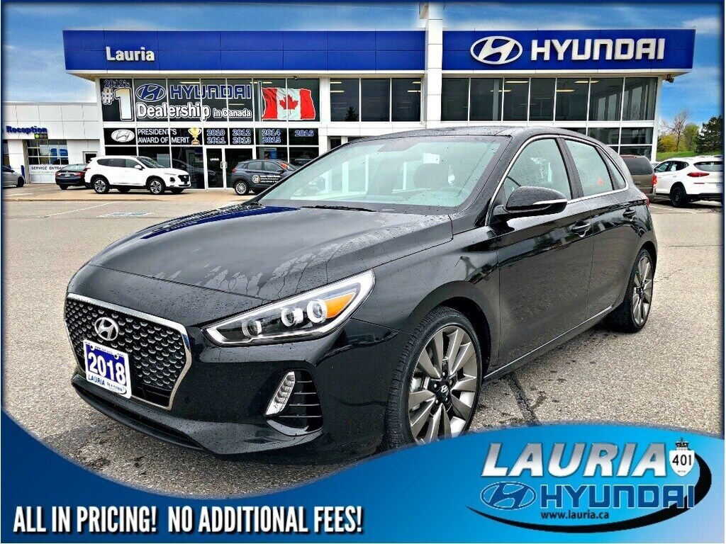 Certified Pre-Owned 2018 Hyundai Elantra GT Sport 1.6 Turbo Manual - LIKE NEW