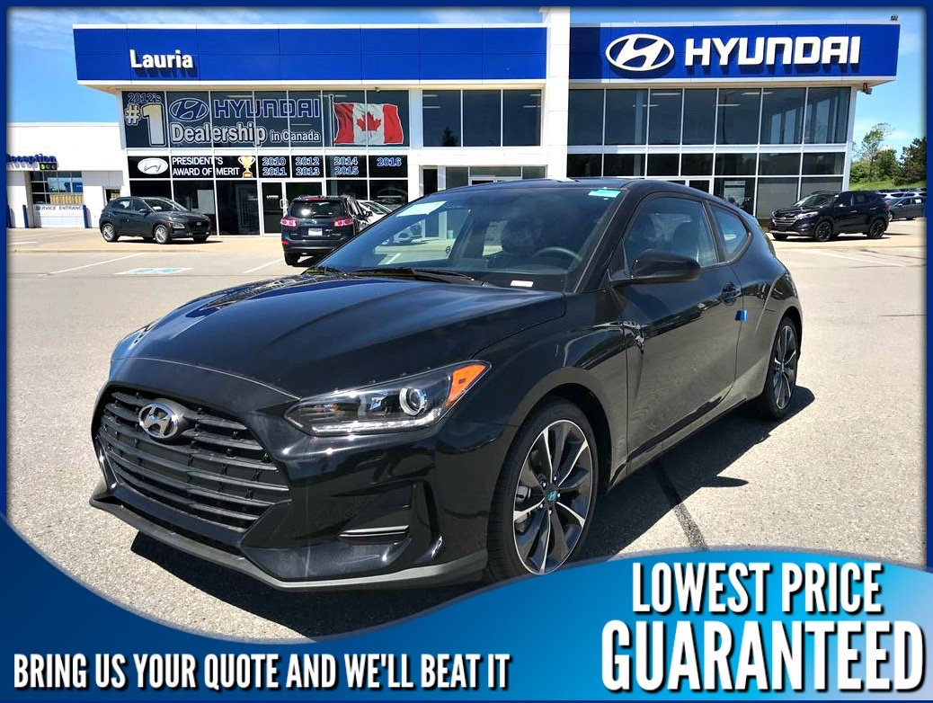 New 2020 Hyundai Veloster Preferred Auto