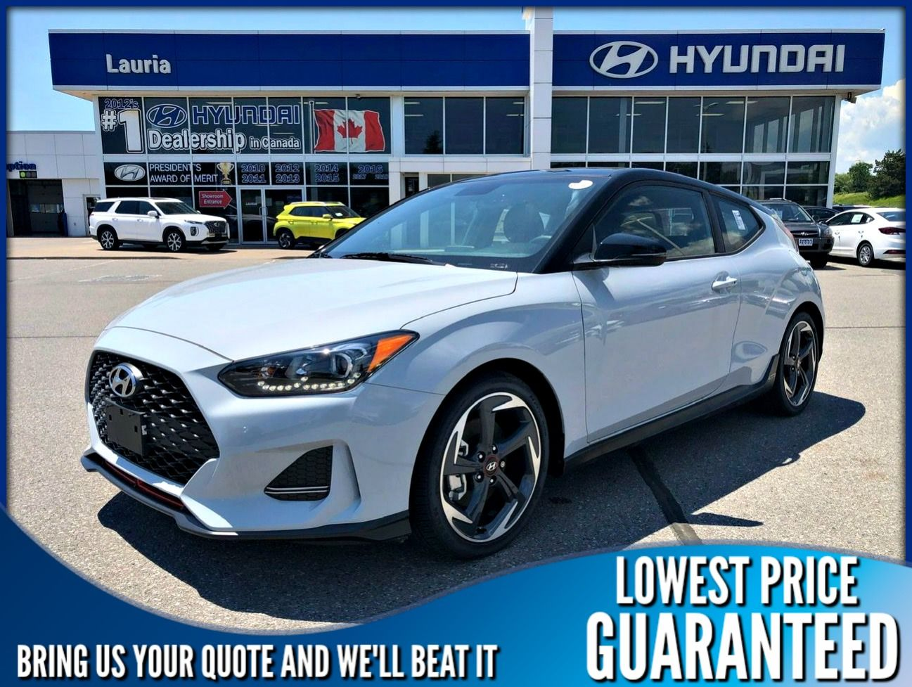 New 2020 Hyundai Veloster Turbo Auto w/Two-Tone Roof