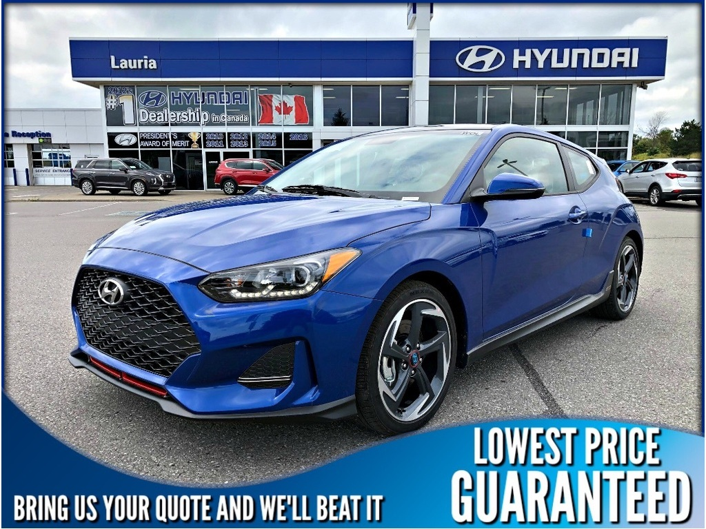 New 2020 Hyundai Veloster Turbo Auto