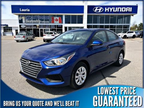 New 2019 Hyundai Accent 4DR Preferred Auto