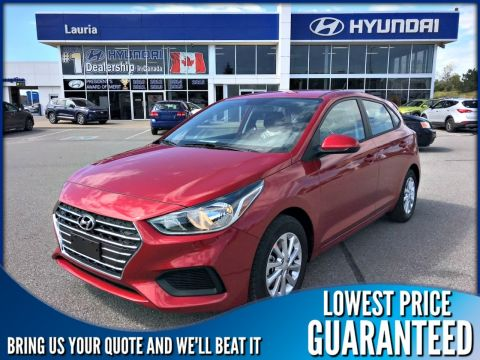 New 2020 Hyundai Accent 5DR Preferred Auto