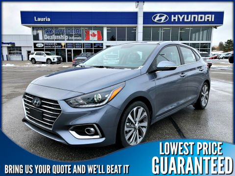 New 2020 Hyundai Accent 5DR Ultimate Auto
