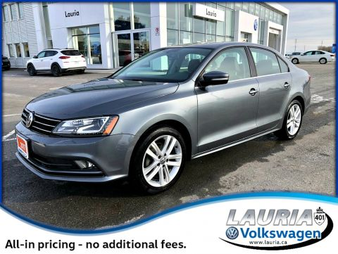 Certified Pre-Owned 2017 Volkswagen Jetta Highline Auto - Navigation / Leather