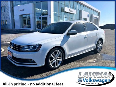 Pre-Owned 2015 Volkswagen Jetta Sedan 2.0L TDI Highline w/Tech pkg