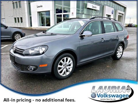 Certified Pre-Owned 2014 Volkswagen Golf 2.0L TDI Comfortline Wagon - 1 owner - 0%