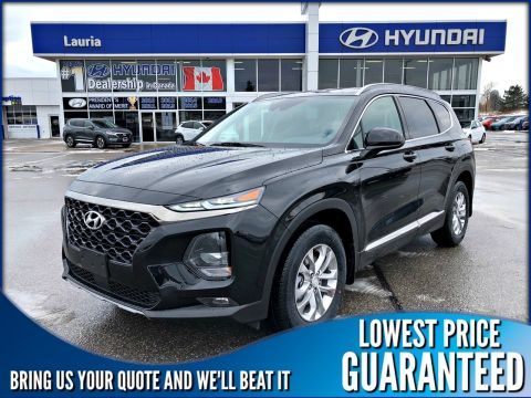 New 2020 Hyundai Santa Fe 2.4L AWD Essential w/Safety Pkg