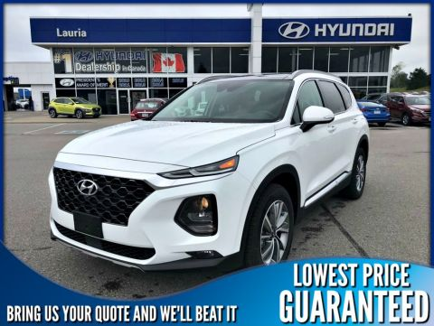New 2020 Hyundai Santa Fe 2.0T AWD Luxury