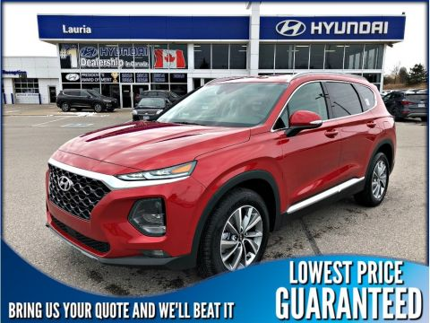 New 2019 Hyundai Santa Fe 2.4L AWD Preferred Auto